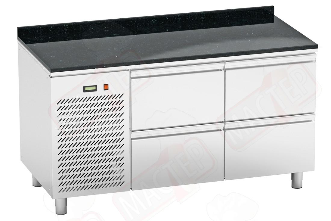 Холодильные столы Orest RTSG-4/6 1500х600