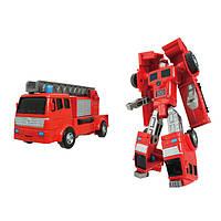 Трансформер X-Bot Пожарная машина Красный 2-82070-63164, КОД: 127311