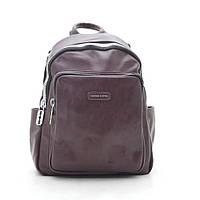 Рюкзак жіночий темно червоний 183393, фото 1
