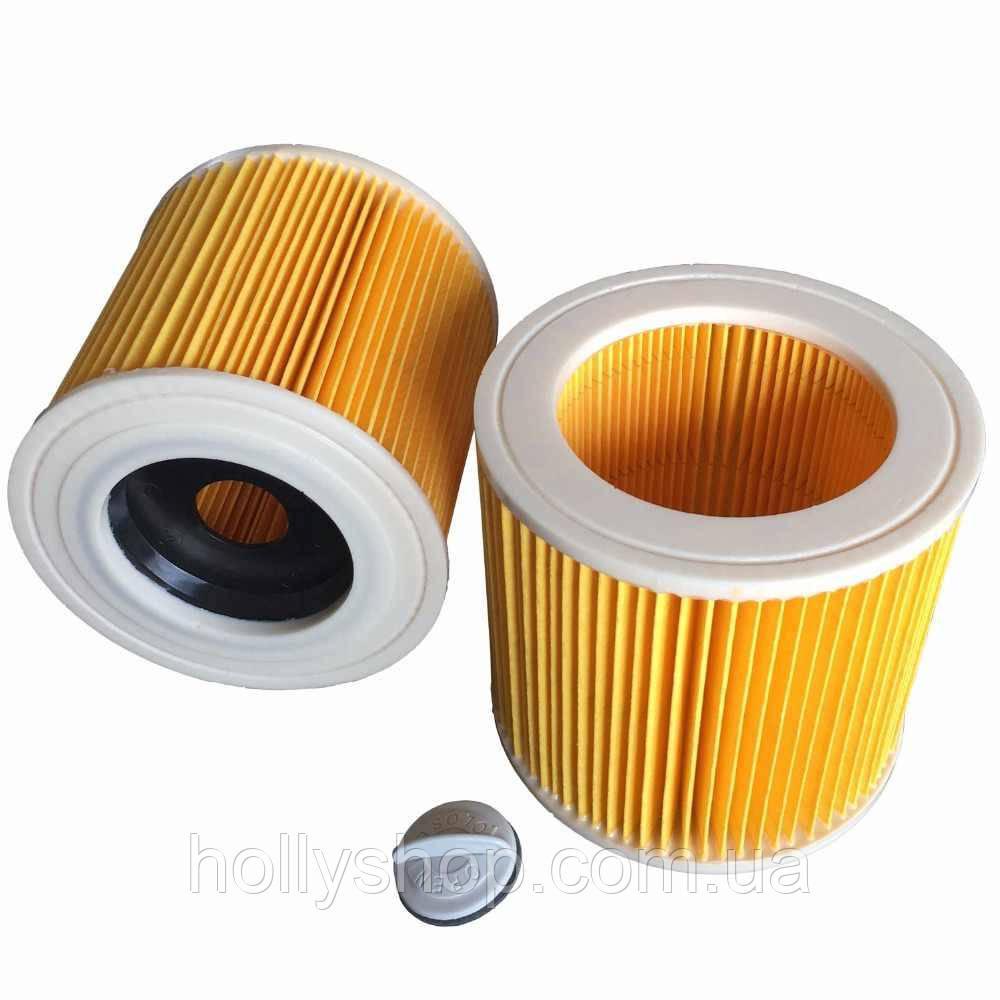 Фильтр для пылесоса Karcher WD3 WD2 керхер кархер каршер хепа KARCHER Патронный фильтр  6.414-552.0