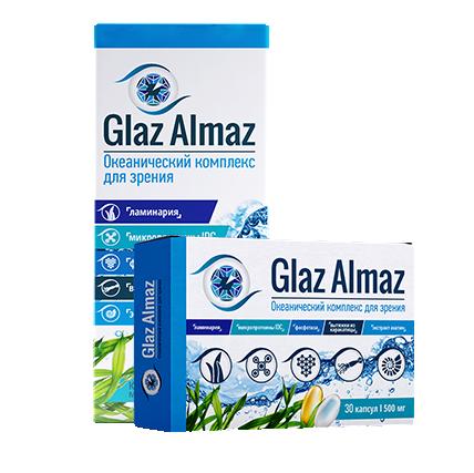 Препарат Glaz Almaz (Глаз Алмаз) для зрения