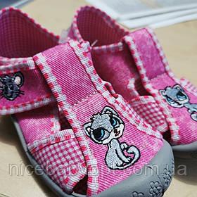 Тапочки текстильні 3F Cat Mouse 21 р.