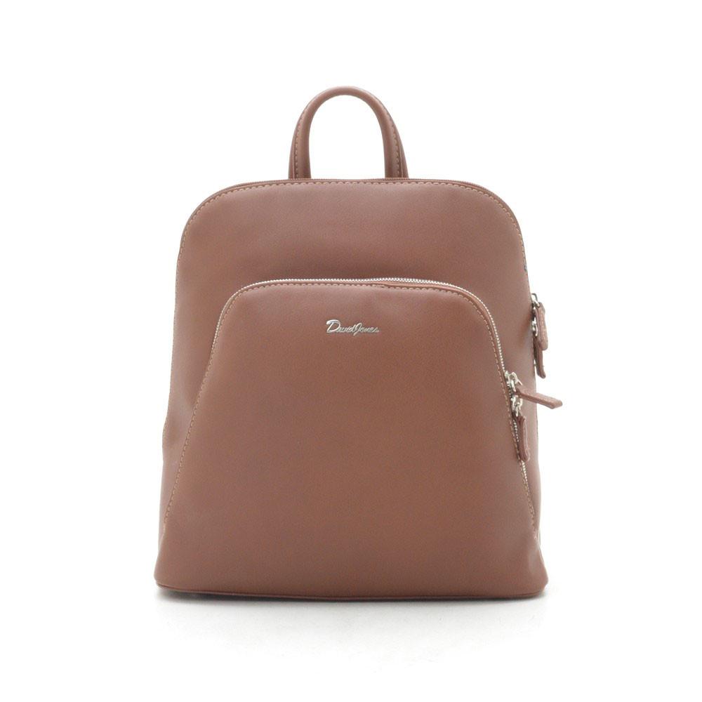 Рюкзак женский David Jones коричневый 182518