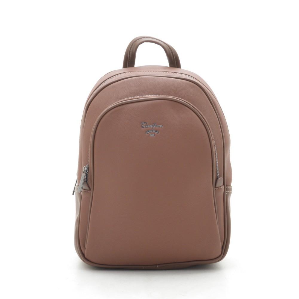 Рюкзак женский David Jones коричневый 182539
