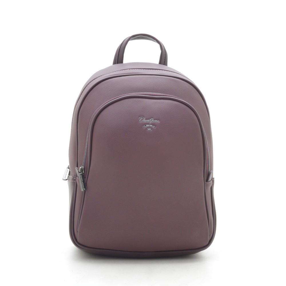 Рюкзак женский David Jones темно бордовый 182541