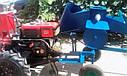 Дровокол-измельчитель веток (Измельчитель веток под мотоблок со шкивом без конуса, фото 4