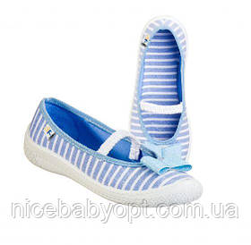 Мокасины для девочки 3F Blue 35р.