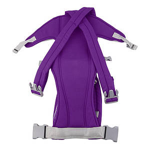 Слинг-рюкзак для переноски ребенка Baby Carriers Фиолетовый, фото 2