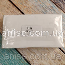 Полимерная глина Пластишка, №0101 белый, 250 г / Полімерна глина Пластішка, №0101 білий, 250 г