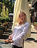 """Шелковая женская блуза """"Norma"""" с длинным рукавом (5 цветов), фото 4"""