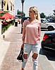 """Шелковая женская блуза """"Norma"""" с длинным рукавом (5 цветов), фото 5"""