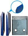Дровокол (измельчитель веток под ел. двигатель зсо шкивом без конуса, двусторонняя заточка ножей, фото 3