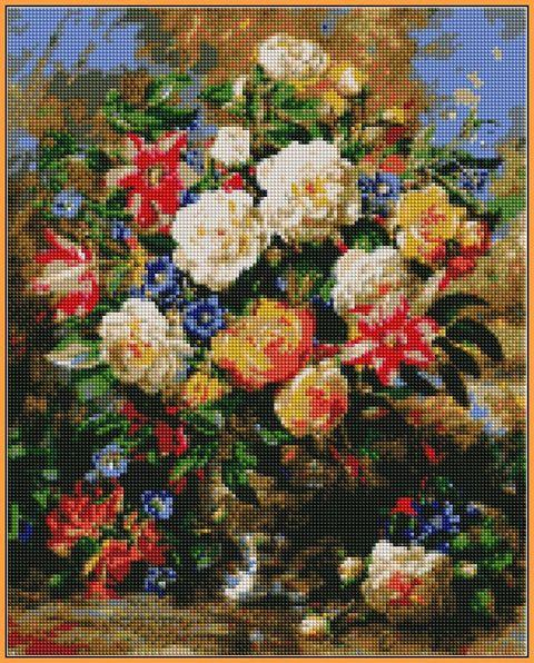 Алмазная вышивка  40×50 см. Торжество лета Художник Альберт Уильямс (ST-1052)