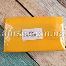 Полимерная глина Пластишка, №0106 желтый HR, 250 г / Полімерна глина Пластішка, №0106 жовтий HR, 250 г