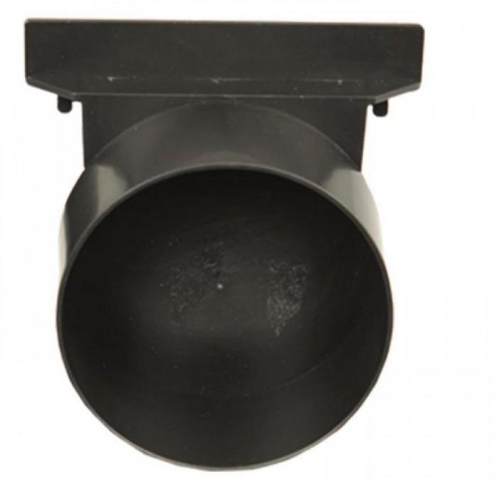 Заглушка к глубокому водоотводному желобу высотой 150 мм (папа)