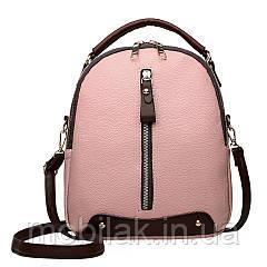 Маленький женский рюкзак бренда Ladybabag Pink