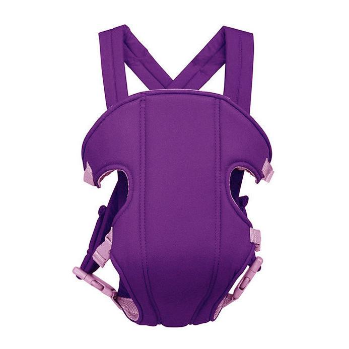 Слинг-рюкзак для переноски ребенка Baby Carriers Фиолетовый