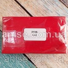 Полимерная глина Пластишка, №0108 красный алый, 250 г / Полімерна глина Пластішка, №0108 червоний, 250 г