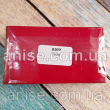 Полимерная глина Пластишка, №0109 рубин, 250 г / Полімерна глина Пластішка, №0109 рубін, 250 г