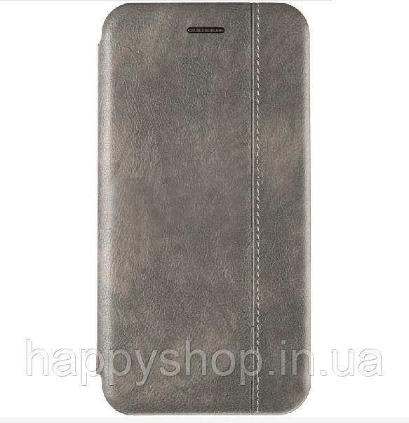 Чехол-книжка Gelius Leather для Samsung Galaxy A9 2018 (A920) Серый