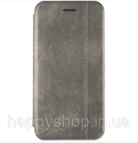 Чехол-книжка Gelius Leather для Samsung Galaxy A9 2018 (A920) Серый, фото 2