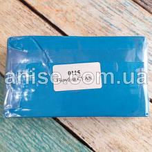 Полимерная глина Пластишка, №0115 голубой циан, 250 г / Полімерна глина Пластішка, №0115 голубий CYAN, 250 г