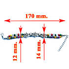 Браслет на Руку Тибетский Три Цветка и Цветные Бусы №2 Талисманы, Обереги, Аммулеты, фото 3