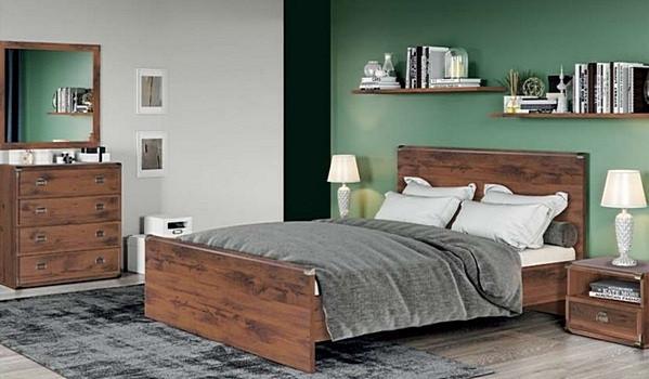 """Меблі в спальню """"Індіана"""" від БРВ  (Дуб шуттер)"""