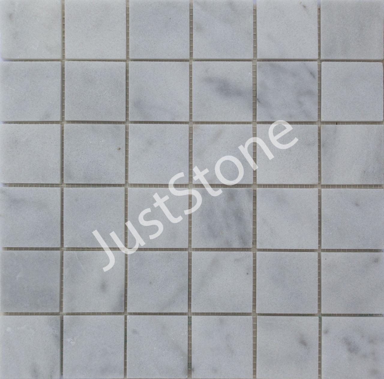 Мраморная Мозаика Полированная МКР-3П (47х47) 6 мм White Mix