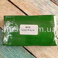 Полимерная глина Пластишка, №0118 зеленый хром, 250 г / Полімерна глина Пластішка, №0118 зелений хром, 250 г