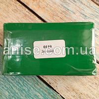 Полимерная глина Пластишка, №0119 зеленый, 250 г / Полімерна глина Пластішка, №0119 зелений, 250 г