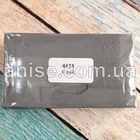 Полимерная глина Пластишка, №0123 серый, 250 г / Полімерна глина Пластішка, №0123 сірий, 250 г