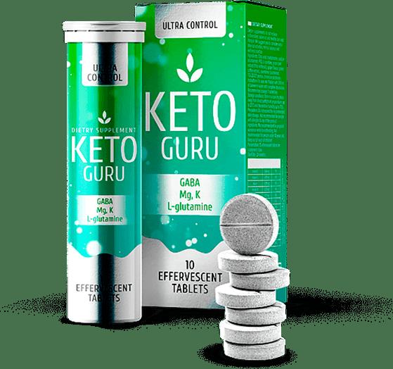 Keto Guru (Кето Гуро) шипучие таблетки для похудения