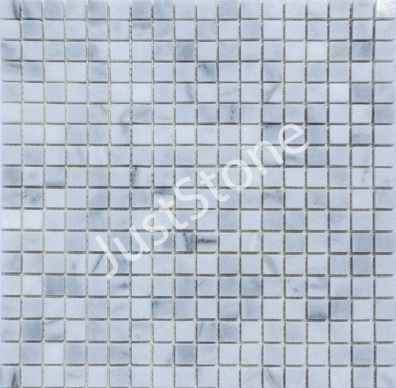 Мраморная Мозаика Полированная МКР-4П (15х15) 6 мм White Mix