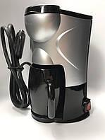 Кофеварка автомобильная, портативная кофе машина работает от 12 вольт