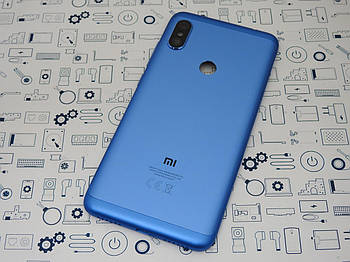 Б.У. Задняя крышка Xiaomi Redmi Note 6 Pro синий