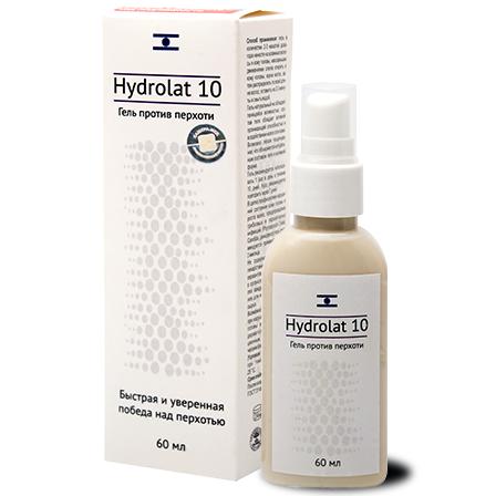 Гель Hydrolat 10 против перхоти