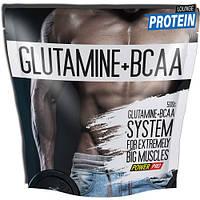 Аминокислоты bcaa Power Pro Glutamine + BCAA 500 g