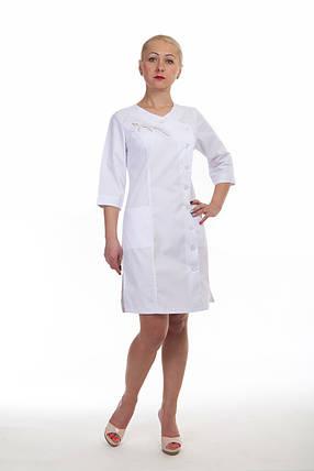 Модный женский медицинский халат, фото 2