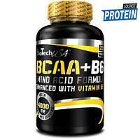 Аминокислоты bcaa BioTech BCAA + B6 (200 tabs)