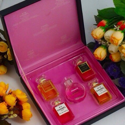 Chanel Chance  парфюмерный набор из 5 ароматов (5*7,5 ml)