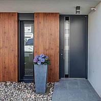 Вхідні алюмінієві двері