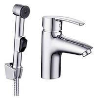 Набор для биде Imprese HORAK 05170BT хром (смеситель + гигиенический душ с держателем + шланг 1,5 м)