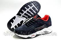 Кроссовки унисекс в стиле Nike Air Huarache, Dark Blue\Red, фото 2