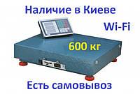Весы беспроводные 600 кг WI-FI 60*80 торговые.