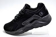 Кроссовки унисекс в стиле Nike Air Huarache, Black/Чёрный