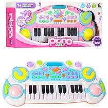 Синтезатор - Дитячий музичний центр, 24 клавіш, запис, 6 ритмів, CY-6032B