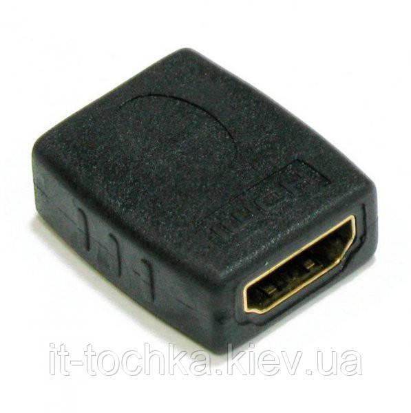 Адаптер cablexpert a-hdmi-ff hdmi 19+19пин f/f