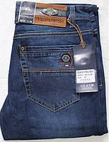 Мужские джинсы BARON,W33 L34 Стрейч.Тёмно-синие.Турция.BR9125.