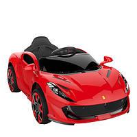 Детский электромобиль Ferrari T-7641, красный